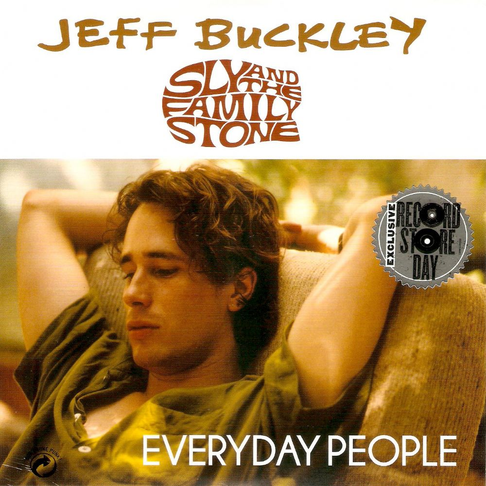 JEFF BUCKLEY Everyday People Vinyl Record 7 Inch Epic 2015